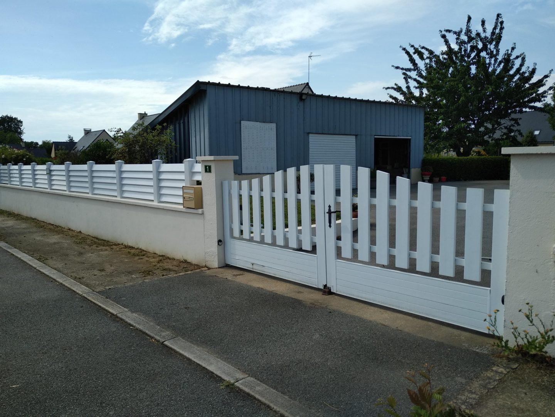 Jardins Et Clotures D Armor pose de clôtures et portails extérieurs crédin morbihan